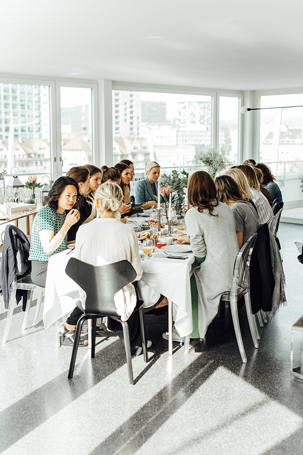 Westwing Brunch in Zurich, May 2017 (Image Copyright: Westwing)