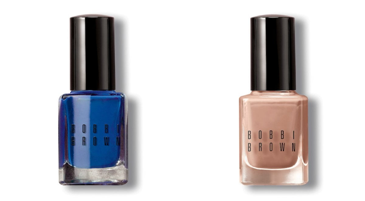 Bobbi Brown Peace Love Beach Summer 2017 Collection: Nail polish in Navy and Dune