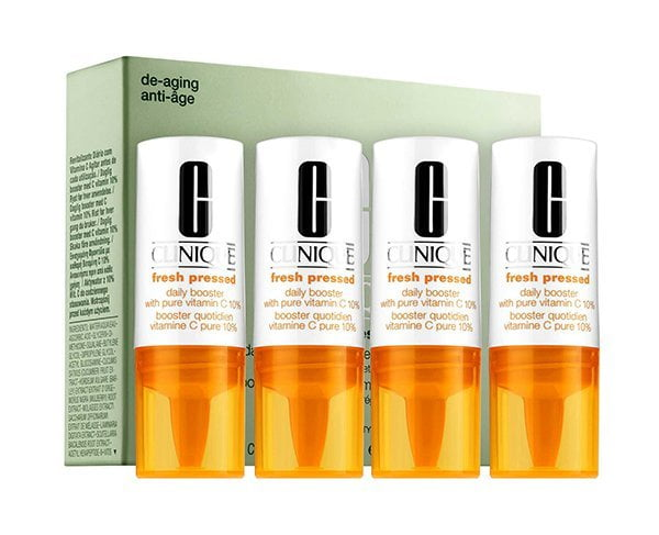 Clinique Fresh Pressed Daily Booster (Graceful Aging mit Actives, Hey Pretty Tipps)