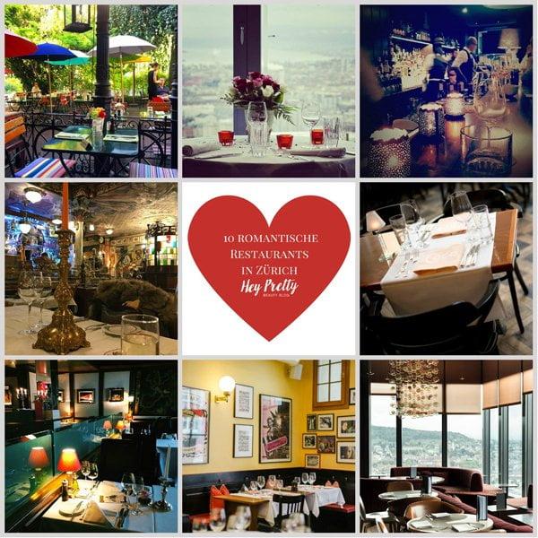 Romantische Restaurants in Zürich: Die besten Plätze für ein Candlelight Dinner (Hey Pretty)