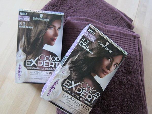 Schwarzkopf Color Expert Haarfarben: Erfahrungsbericht von Hey Pretty (Farb-Update nach 4 Wochen)