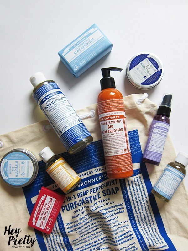 Brand Love: Dr. Bronner's (Verlosung von Set), Image by Hey Pretty Beauty Blog