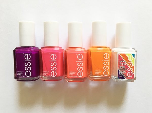 Essie Neons Collection 2017 (Image and Review by Hey Pretty Beauty Blog)