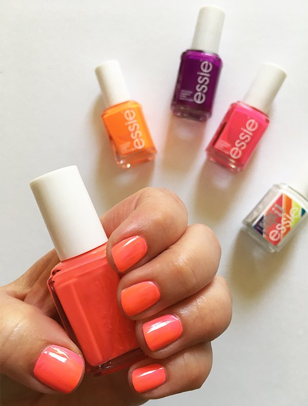 Essie Neons Collection (Summer 2017), Review and Swatches by Hey Pretty #beautysquadswitzerland