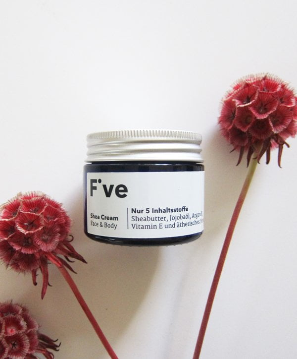 Five Skincare: Shea Cream (Image by Hey Pretty)