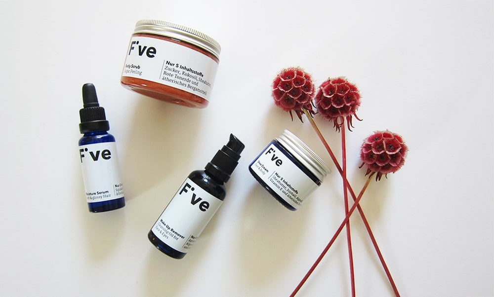 Five Haut- und Haarpflege aus Zürich: Organic und nur fünf Zutaten (Review und Image von Hey Pretty)