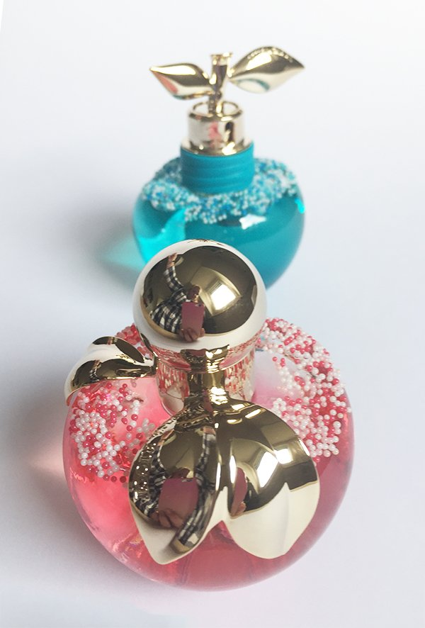 Les Gourmandises de Nina Eau de Toilette by Nina Ricci (Image and review by Hey Pretty) #bellesdenina #mysweetbff