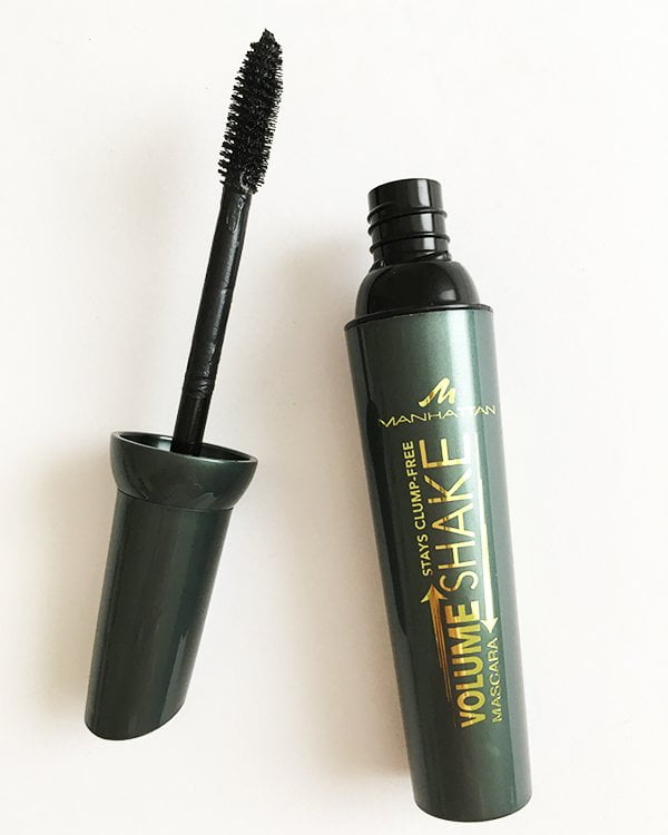 Manhattan Volume Shake Mascara (Kleines Budget, grosse Wimpern) Mascara Test auf Hey Pretty