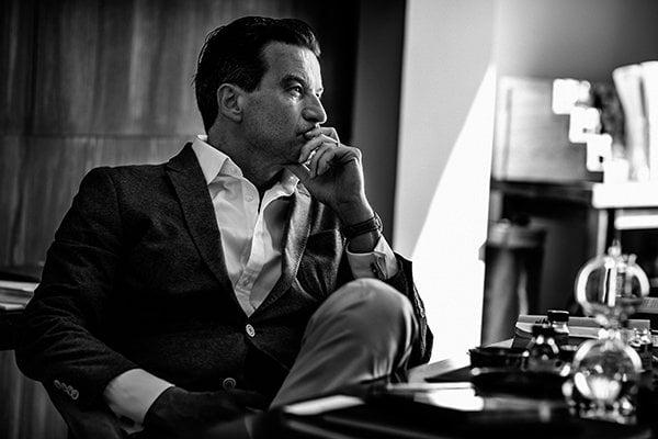 Thierry Wasser, Perfumer and creator of Mon Guerlain (PR Image)