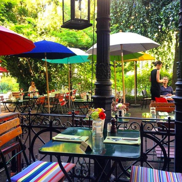 Restaurant Gartenhof Zürich – die romantischsten Restaurants in Zürich by Hey Pretty