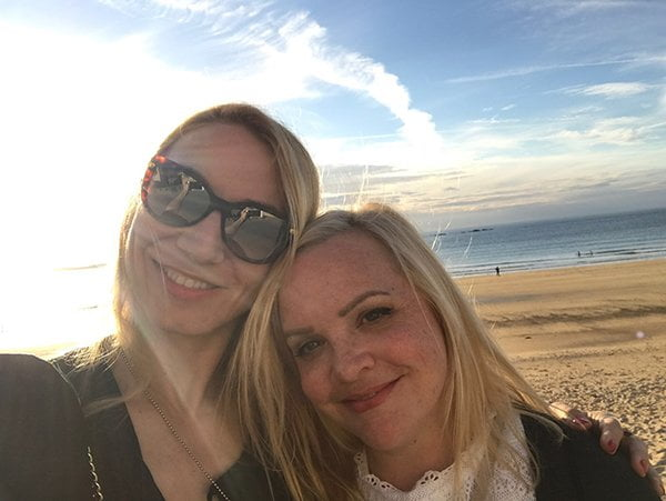 Hey Pretty & More than Blonde in der Thalasso Therapie Saint-Malo