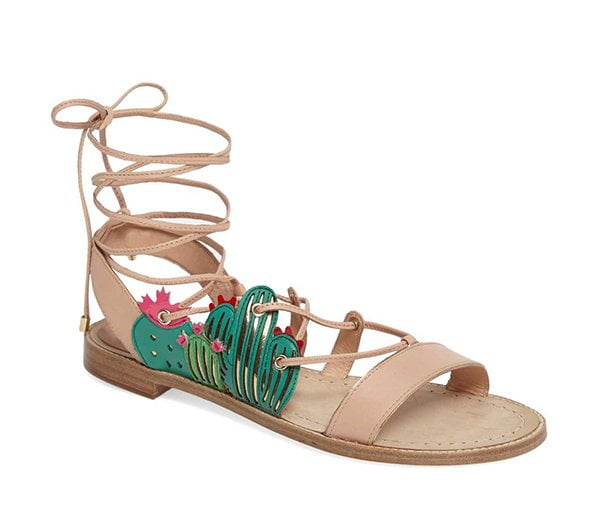 Kate Spade Salina Sandals (with Cactus), Best Summer Sandals 2017 by Hey Pretty