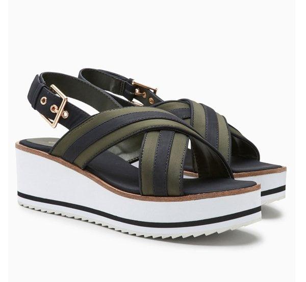 Next Sporty Strap Plateau Sandal (Best Summer Sandals 2017) – Fashion Flash on Hey Pretty