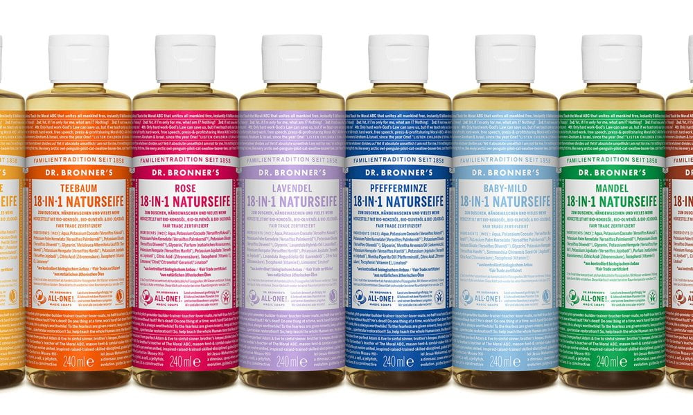 Dr. Bronner's Magic Soaps: Brand Love und Review auf Hey Pretty