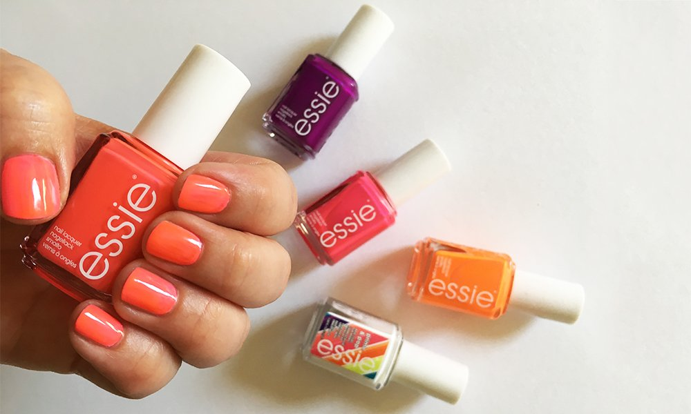 Essie Neons Collection 2017: Review and Swatches by Hey Pretty