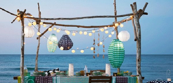 IKEA Solvinden Laternen, PR Image (Hey Pretty Balkon- und Terrassen-Deko 2017)