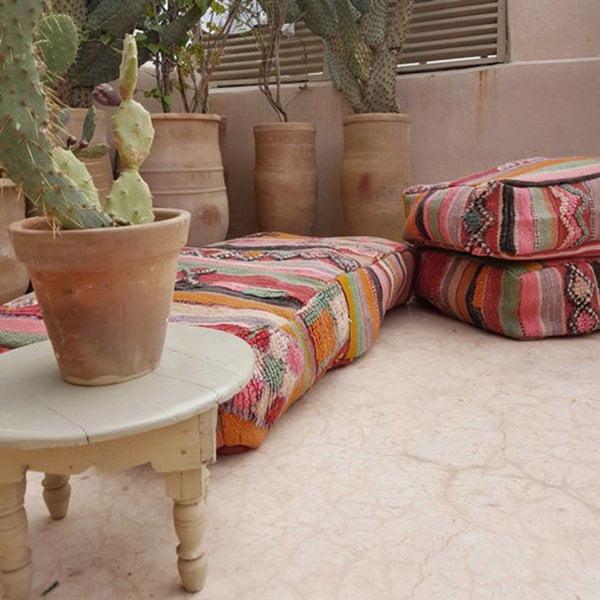 Marokkanisches Sitzkissen von thebohemiansouk (Etsy)
