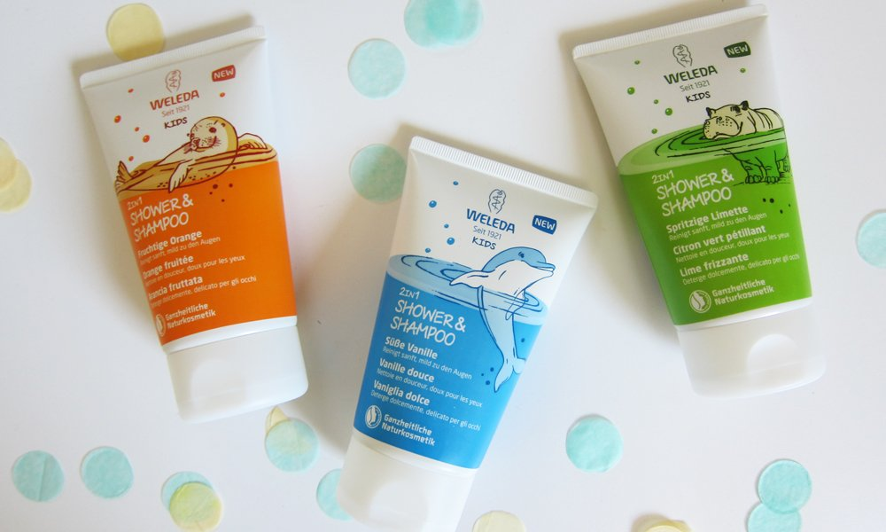Weleda Kids 2in1 Shower & Shampoo: Review und Event (Image by Hey Pretty)