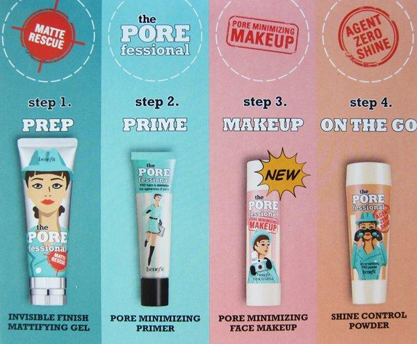 Benefit the POREfessional: 4 Produktetipps für den «Porefect» Look (Bild und Review auf Hey Pretty mit PR Material von Benefit)