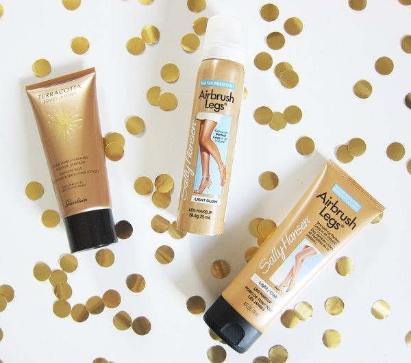 Die besten Bronzer: Leg Make-Up von Guerlain und Sally Hansen (Review by Hey Pretty)