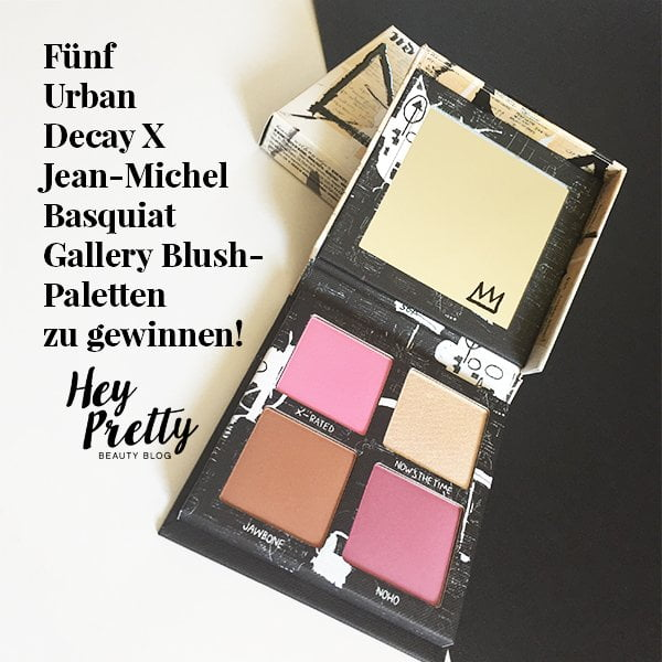 UD x Jean-Michel Basquiat Blush Palette: Verlosung auf Hey Pretty Beauty Blog