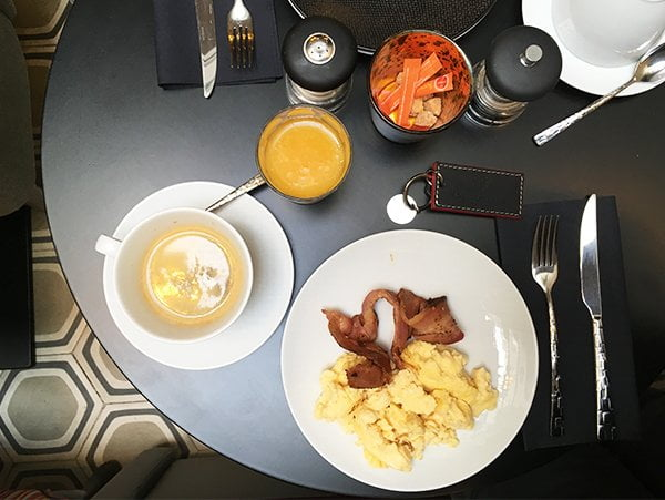 Breakfast Hotel Adèle & Jules Paris, Yves Rocher Press Trip auf Hey Pretty