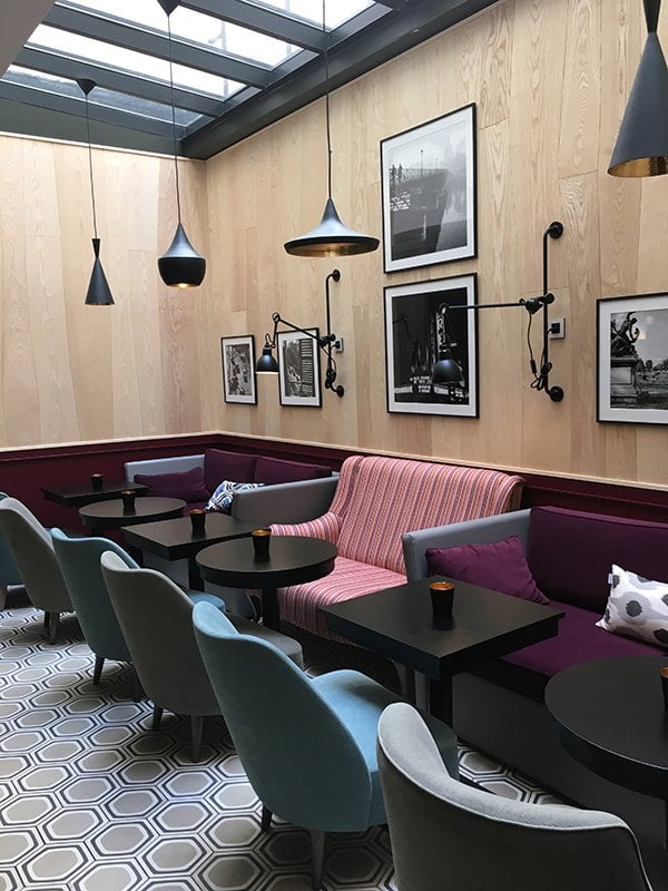 Foyer des Hotel Adèle & Jules Paris, Yves Rocher Press Trip auf Hey Pretty