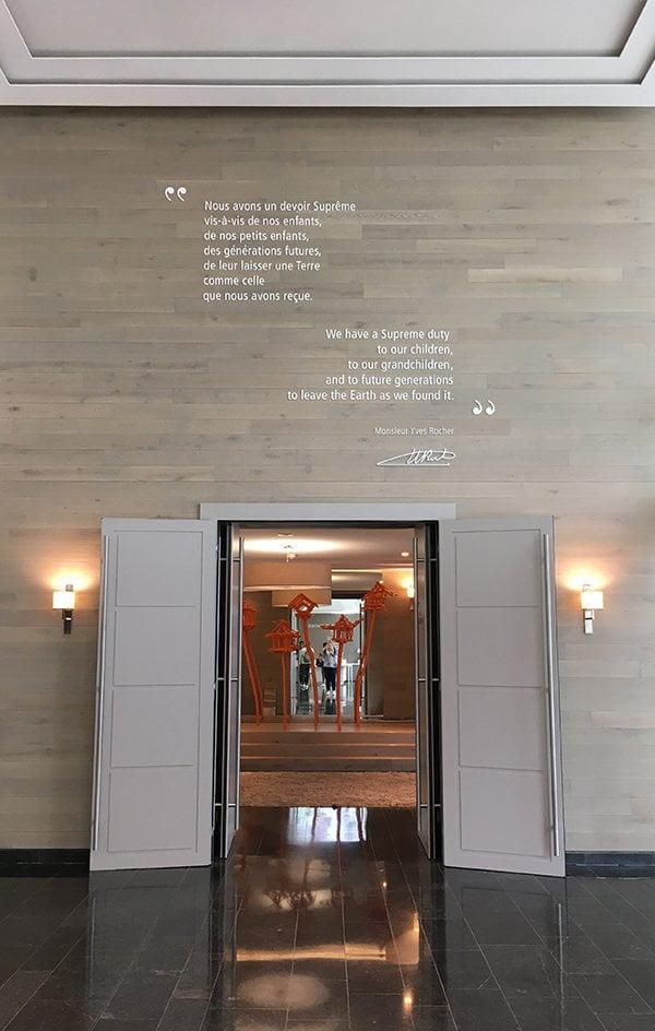Yves Rocher Pressereise: Cap Rocher (Headquarters) in Paris – Image by Hey Pretty