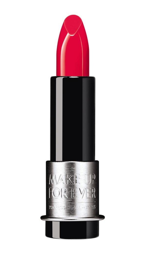 Make Up For Ever Artist Rouge Light in Red Coral (10 rote Lippenstifte, die dich glücklich machen) – Hey Pretty