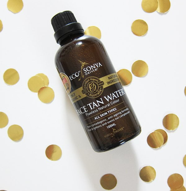 Eco by Sonya Face Tan Water Review by Hey Pretty