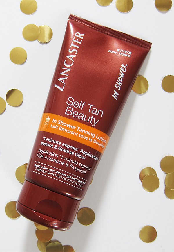 Lancaster Self Tan Beauty In Shower Tanning Lotion Review by Hey Pretty