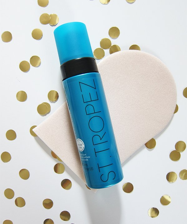 St.Tropez Self Tan Express Advanced Bronzing Mousse Review by Hey Pretty