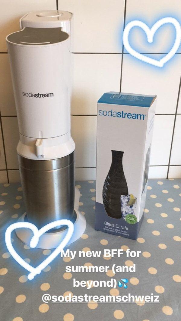Ankunft SodaStream Crystal-Gerät: Review auf Hey Pretty