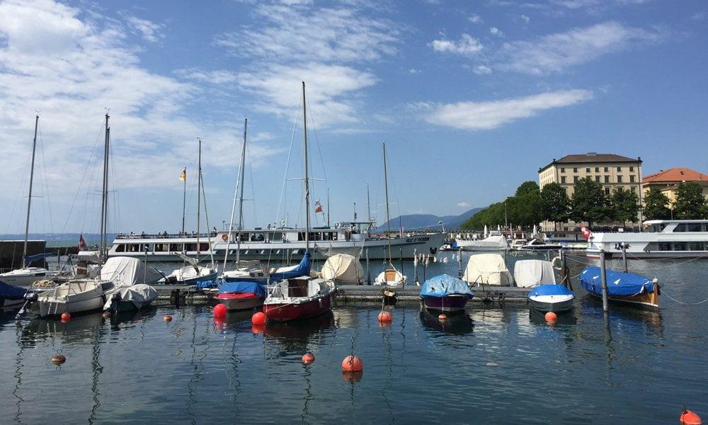 Hey Pretty in Neuchâtel und Montreux