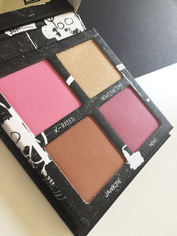 Urban Decay X Jean-Michel Basquiat Gallery Blush Palette (Image by Hey Pretty)
