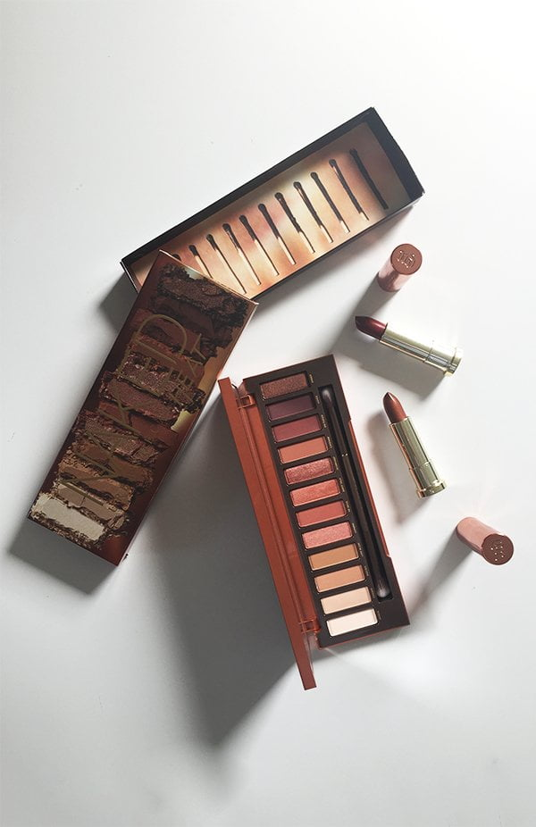 Urban Decay Naked Heat Palette and Lipsticks (Review on Hey Pretty)