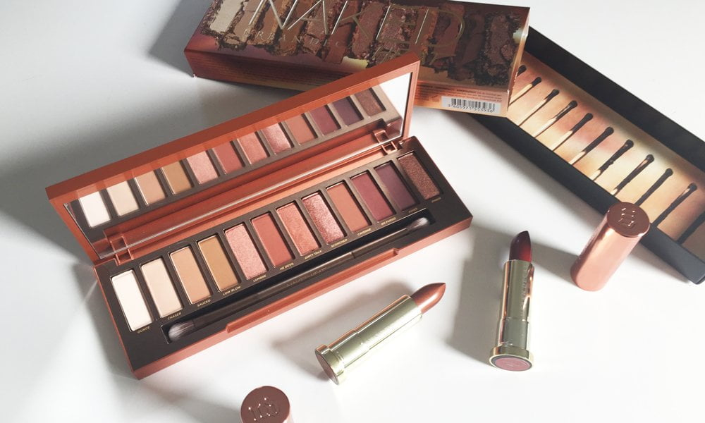 Urban Decay Naked Heat Lidschattenpalette und Lippenstifte: Review by Hey Pretty