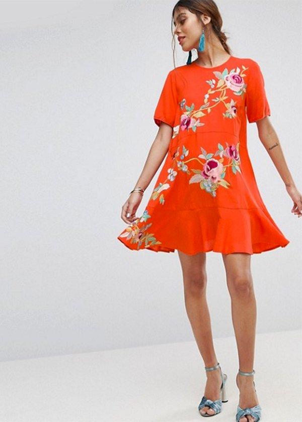 ASOS Premium Embroidered Dress (Gut bestickt) Hey Pretty Fashion Flash