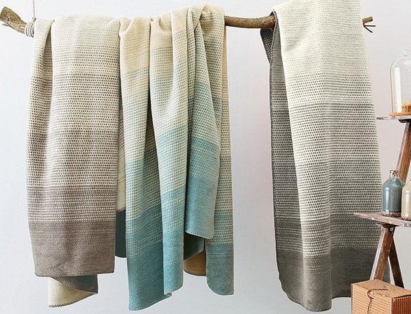Kuschelherbst: Baumwolldecke Cotona-Linea von Allnatura