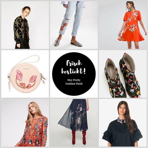 Frisch bestickt: Meine Embroidery-Lieblingsstücke für den Herbst 2017 (Hey Pretty Fashion Flash)