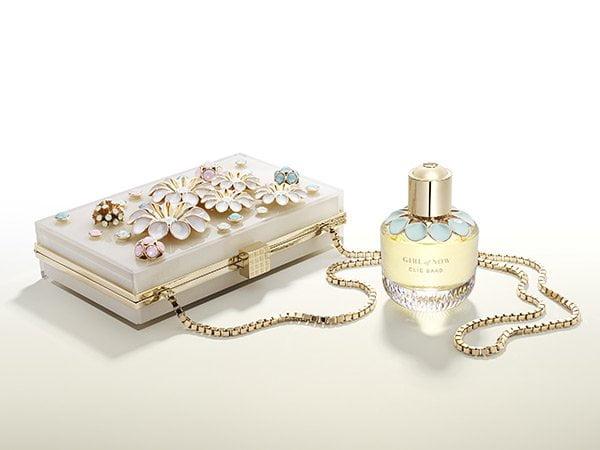 Elie Saab Girl of Now Eau de Parfum, PR Visual with Clutch