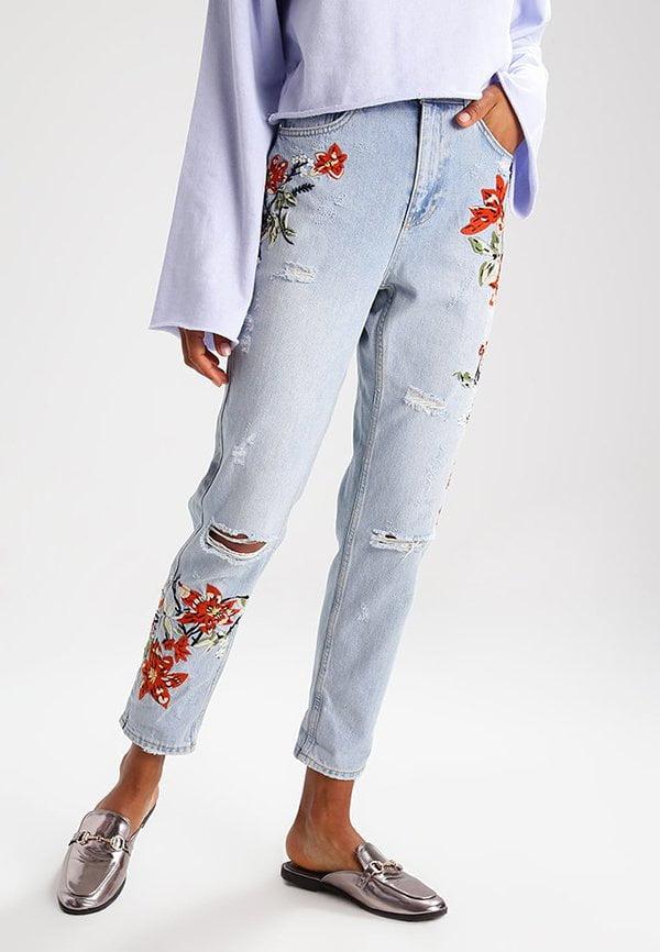 Fire Flower Mom Jeans (Zalando): Schöne bestickte Lieblingsstücke auf Hey Pretty