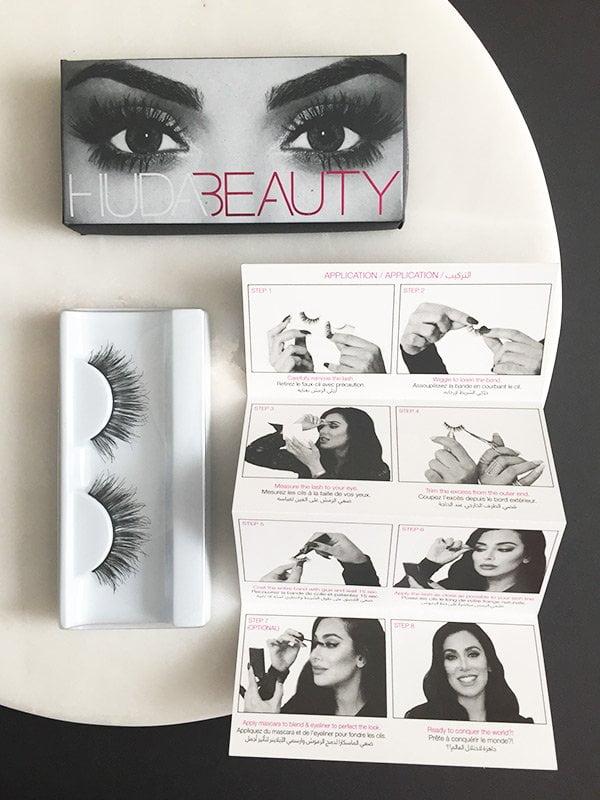 Huda Beauty Samantha Lashes (Image by Hey Pretty)