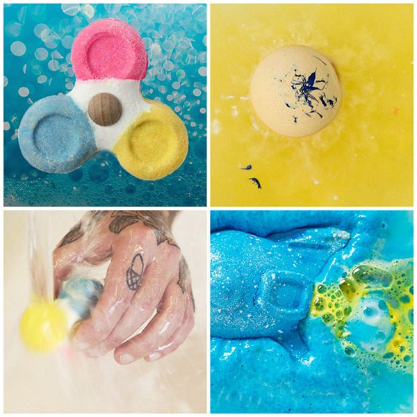 LUSH Bubble Spinner, Rocket Science and Cheer Up Buttercup Review (Hey Pretty)