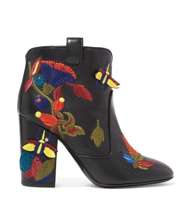 Bestickte Boots von Laurence Dacade (Net a Porter)