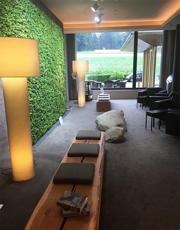 Entrée Golfpanorama Hotel Lipperswil, Spa Review von Hey Pretty Beauty Blog