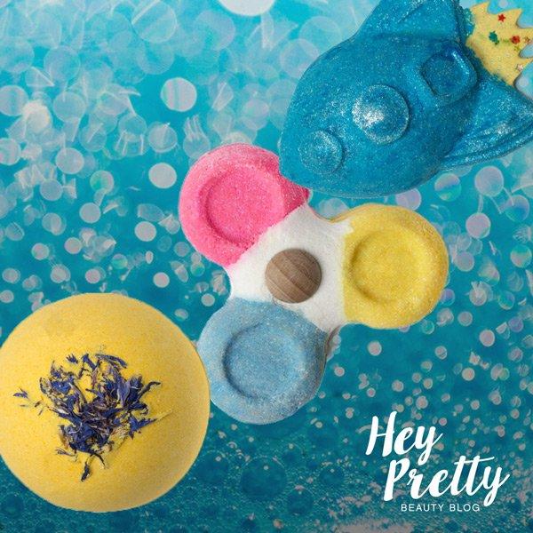LUSH Bubble Spinner Verlosung auf Hey Pretty