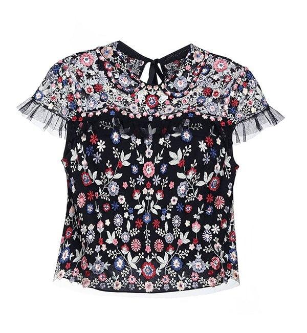Schön bestickt: Posy Bluse von Needle & Thread bei Zalando