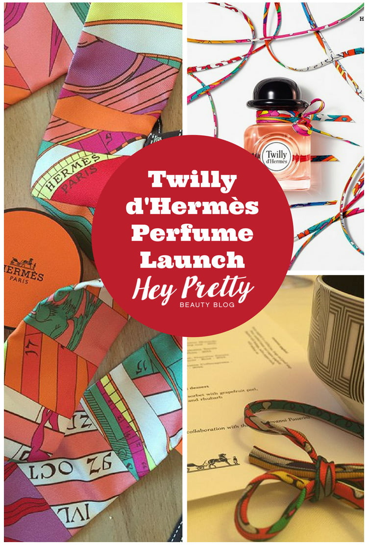 Join me for the launch of Hermès new scent in Paris!