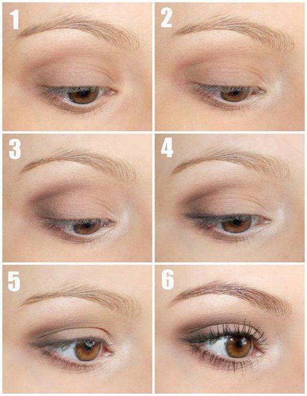 Die besten Augen Make-Up-Tutorials auf Pinterest: Nude Eye von Vorzeigetochter
